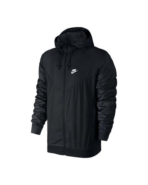 Nike   Мужские Чёрные Куртки