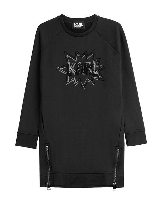 Karl Lagerfeld | Женское Чёрный Sweatshirt With Sequins Gr. S