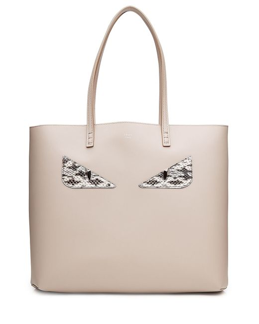 Fendi | Женское Серый Monster Roll Leather Tote Gr. One Size