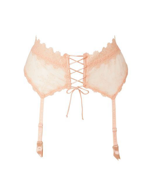La Perla | Rose Donna Beatrice Garter Belt Gr. 38