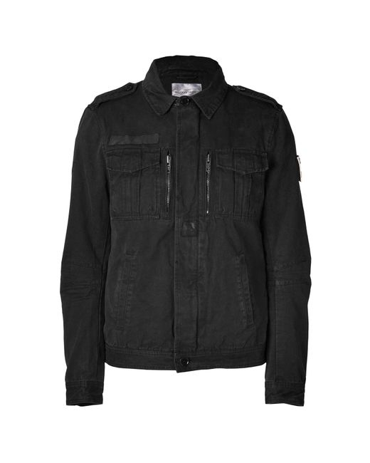 Zadig & Voltaire | Мужское Чёрный Black Cotton Key Jacket Gr. L