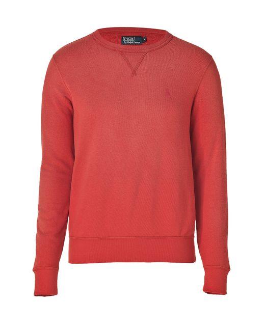Polo Ralph Lauren | Красный Atlantic Terry Sweatshirt In Faded Red Gr.