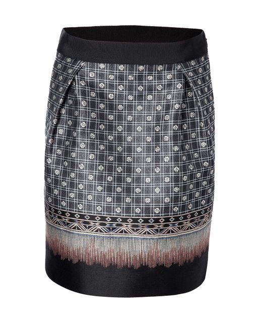 Alberta Ferretti   Женское Jacquard Skirt Gr. 34