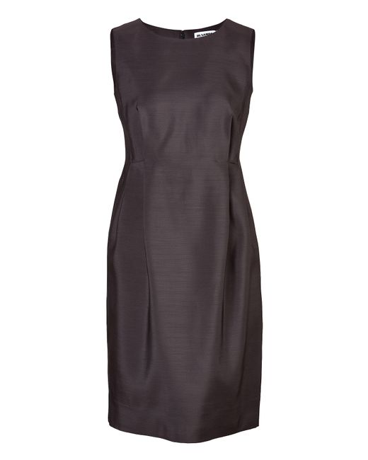 Jil Sander | Женское Чёрный Wool-Silk Darted Dress Gr. 36