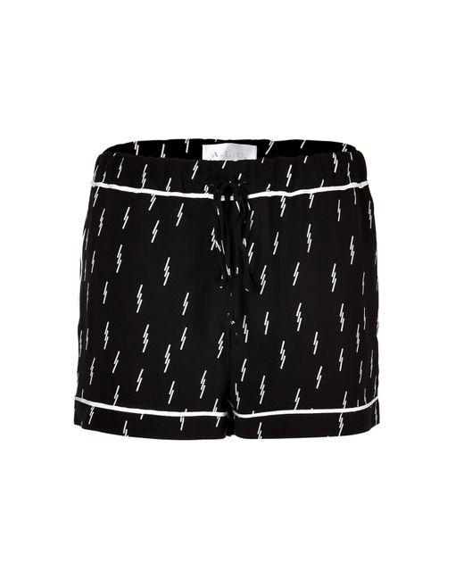A.L.C.   Женское Чёрный Printed Shorts Gr. M