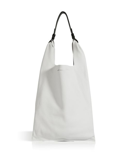 Jil Sander | Женское Leather Double Market Sporty Hobo Gr. One