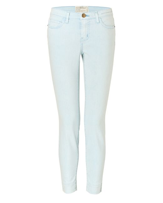 Current/Elliott | Женское Синий The Side Slit Stiletto Skinny Jeans Gr.