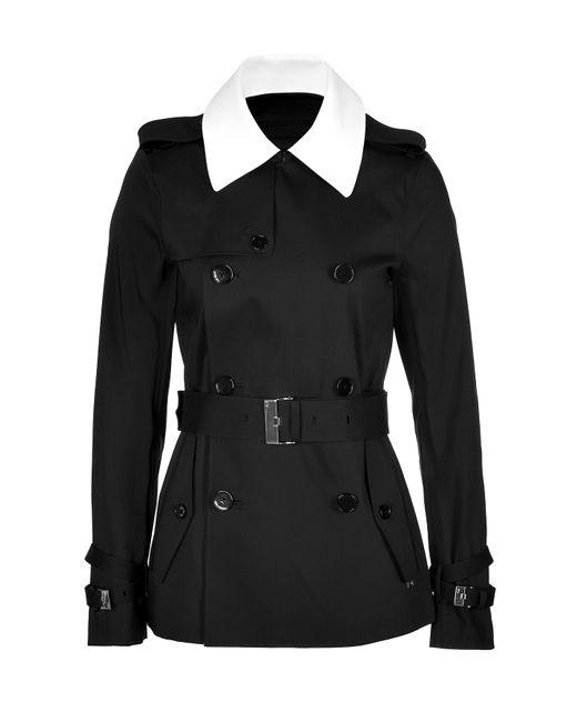 Ralph Lauren Black Label   Женское Чёрный Cotton Blend Trench Jacket Gr. 8