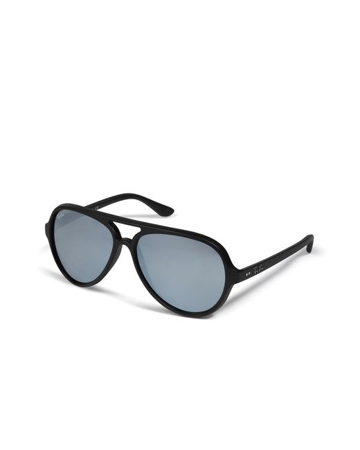 Ray-Ban | Мужское Чёрный Cats 5000 Sunglasses With Flash Lenses In