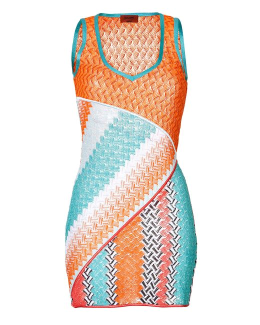 Missoni Mare | Женское Оранжевый Knit Mini-Dress Gr. 38