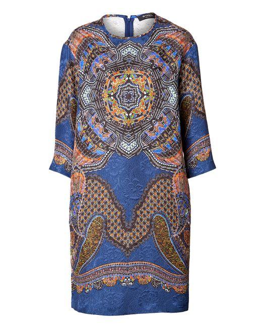Etro | Женское Cotton-Silk Printed Shift Dress Gr. 34