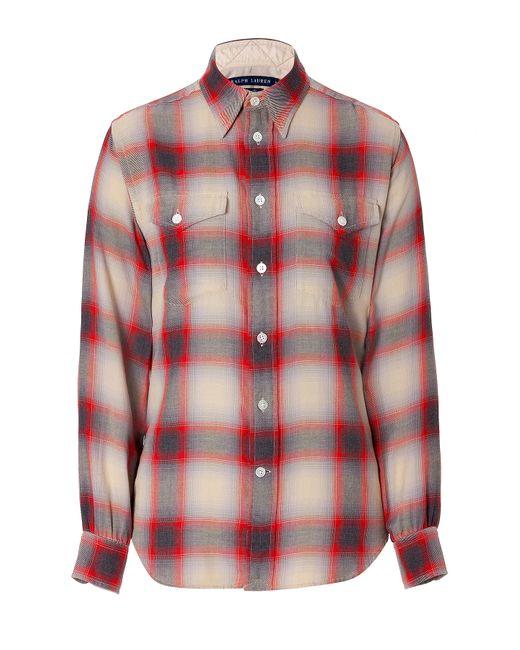 Polo Ralph Lauren | Женское Многоцветный Cotton Plaid Shirt Gr. 8