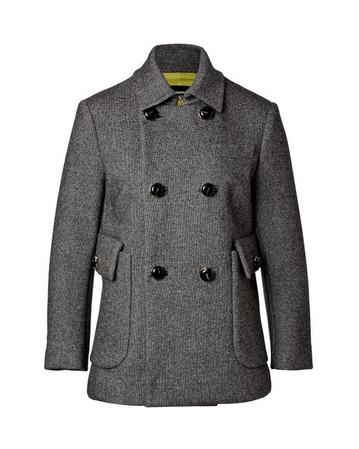 Dsquared2   Женское Серый Wool Blend Double-Breasted Jacket Gr. 38