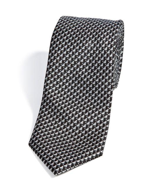 Brioni | Мужское Чёрный Patterned Silk Tie Gr. One Size