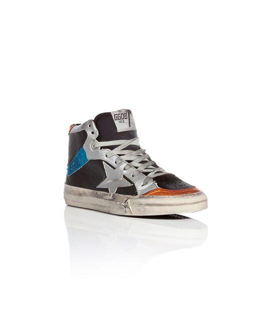 Golden Goose   Женское Многоцветный 2.12 Leather High-Top Sneakers Gr. 40