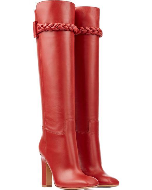 Valentino | Женское Красный Tbc Knee-High Boot Gr. 36