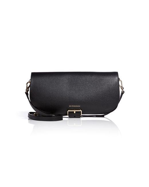 Burberry | Женское Чёрный Small Leather Carson Flap Bag Gr. One