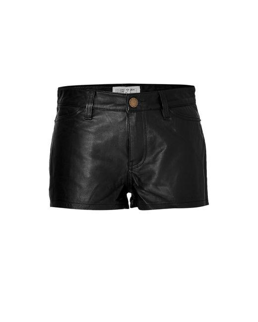 CURRENT/ELLIOT + CHARLOTTE GAINSBOURG | Женское Leather Shorts Gr. 25