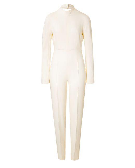 Emilia Wickstead | Женское Белый Wool Jumpsuit Gr. 8
