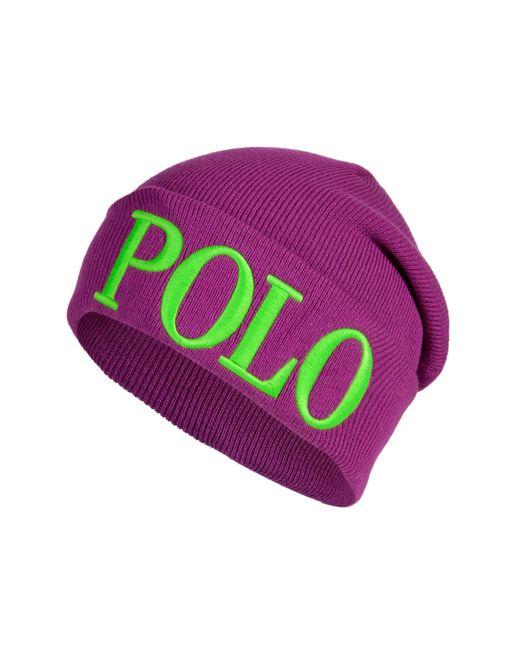 Polo Ralph Lauren | Женское Фиолетовый Knit Logo Beanie Gr. One Size