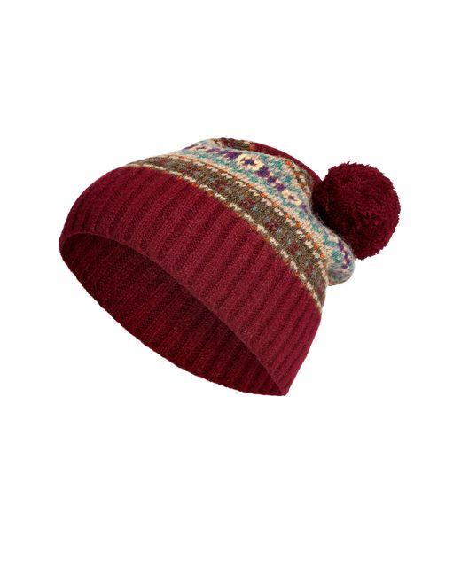 Polo Ralph Lauren   Женское Красный Wool Patterned Knit Hat Gr. One Size