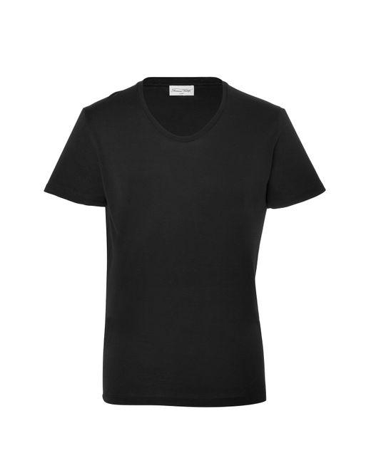 American Vintage | Мужское Серый Classic Cotton T-Shirt Gr. M