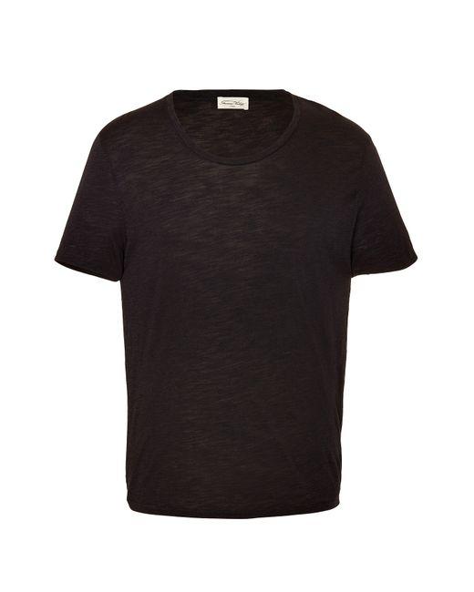 American Vintage | Мужское Серый Cotton-Jersey T-Shirt Gr. M