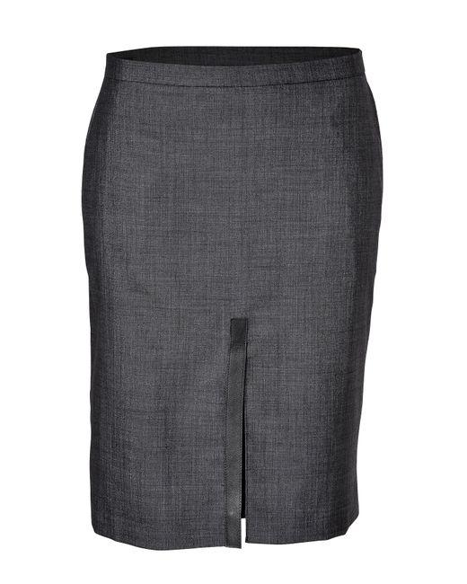 Clemens en August | Женское Wool-Silk Blend Pencil Skirt Gr. 34