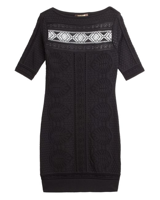 Roberto Cavalli   Женское Чёрный Stretch Knit Dress Gr. 34