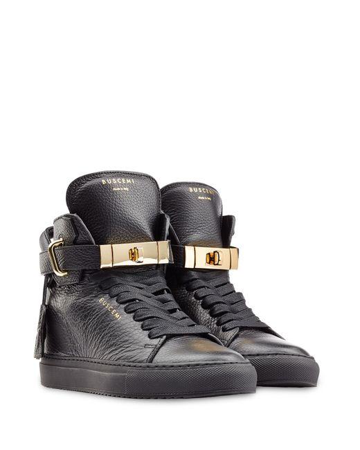 Buscemi | Женское Чёрный Leather Wedge Sneakers Gr. 37