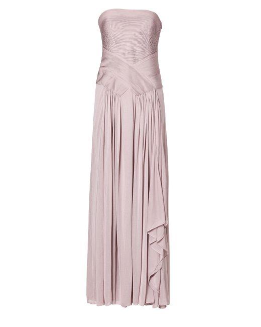 Ralph Lauren Collection | Женское Rose Draped Strapless Gown Gr. Us 6
