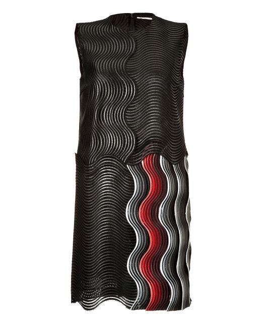 Marco De Vincenzo   Женское Чёрный Wave Dress Gr. 38