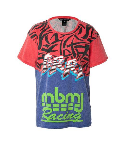 Marc by Marc Jacobs   Женское Многоцветный Cotton Motocross T-Shirt Gr. S