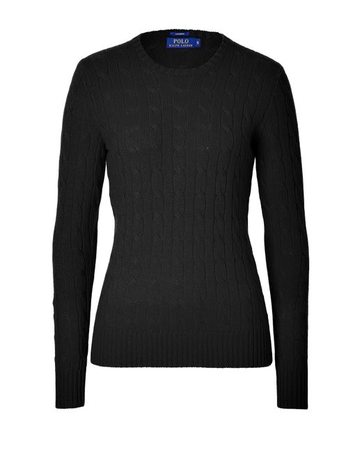 Polo Ralph Lauren | Женское Чёрный Cashmere Cable Knit Pullover Gr. M