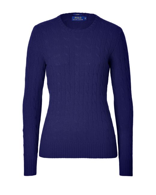 Polo Ralph Lauren | Женское Синий Cashmere Cable Knit Pullover Gr. S