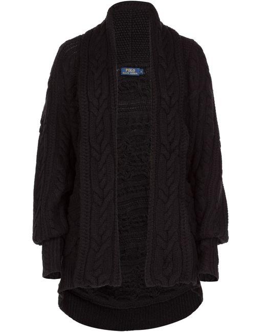 Polo Ralph Lauren | Женское Merino Wool Cable Knit Cardigan Gr. M