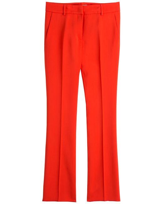 Etro | Женское Красный Wide Leg Crepe Pants Gr. It 48
