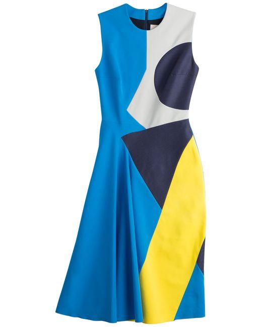 ROKSANDA | Женское Многоцветный Colorblock Sheath Dress Gr. 8