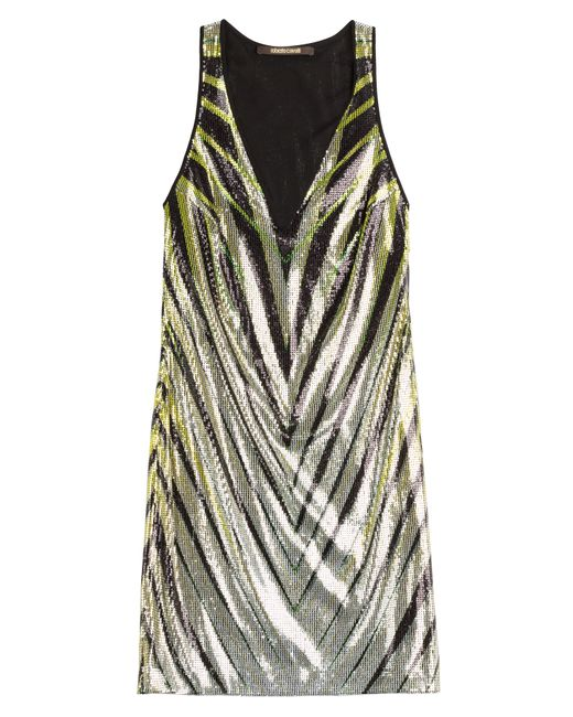 Roberto Cavalli | Женское Многоцветный Sequin Mini Dress Gr. 36