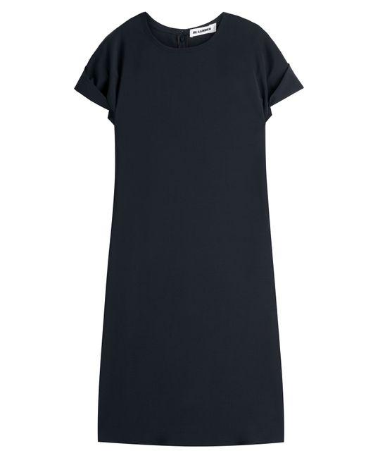 Jil Sander   Женское Синий Wool Dress Gr. 34