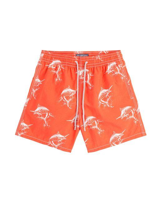 Vilebrequin | Оранжевый Moorea Printed Swim Trunks Gr. M