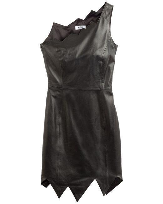Moschino Cheap and Chic | Женское Оранжевый Leather Dress Gr. 36