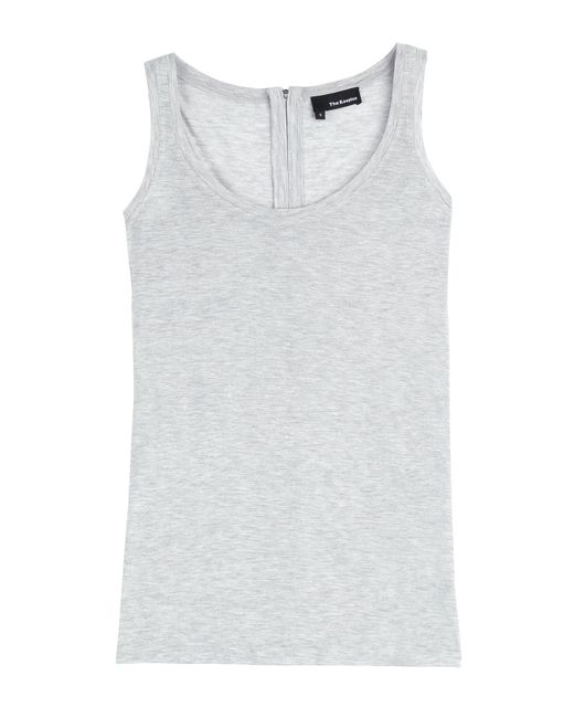 The Kooples | Серый Jersey Tank With Zipped Back Gr. S