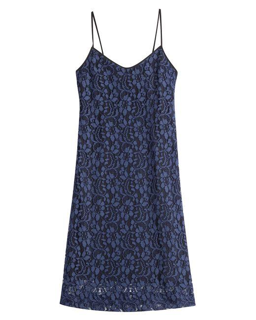 MSGM | Женское Синий Lace Dress Gr. 38