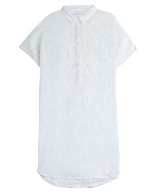 Zadig & Voltaire | Женское Белый Crinkled Crepe Dress Gr. M