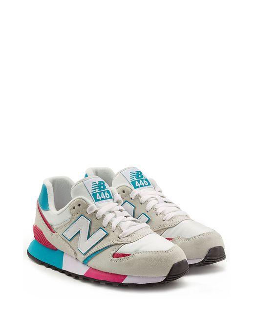 New Balance | Женское Бежевый Colorblock Suede Sneakers Gr. 5