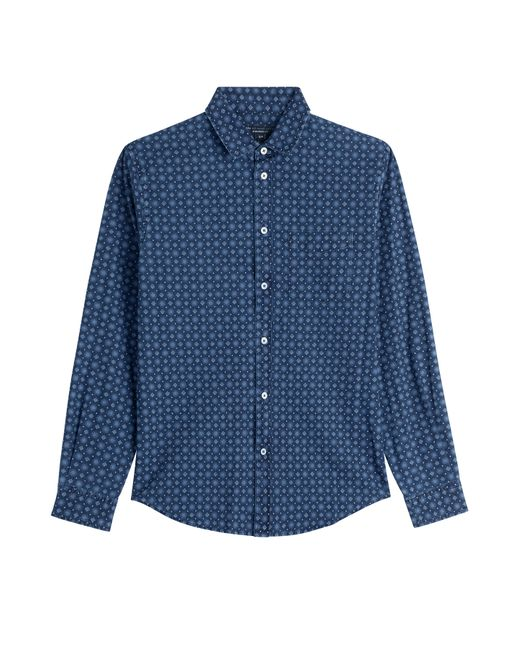 Marc by Marc Jacobs | Мужское Синий Printed Cotton Shirt Gr. S