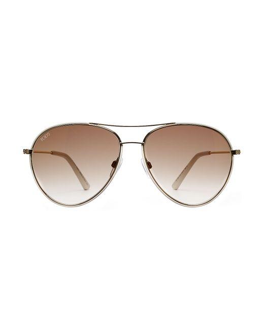 Tod'S | Женское Золотой To0155 Aviator Sunglasses Gr. One Size