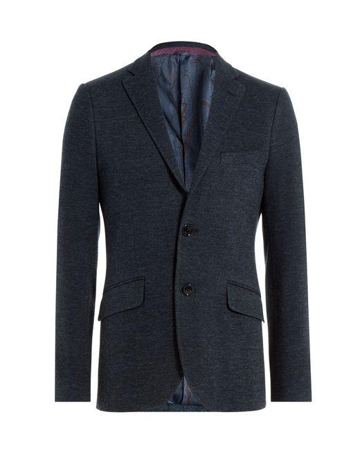 Etro | Мужское Синий Cotton Blend Blazer Gr. 46