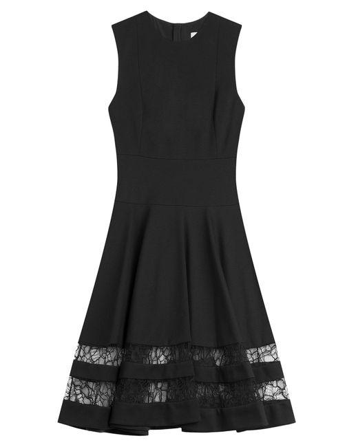 Jason Wu   Женское Чёрный Lace Detailed Flared Dress Gr. 2
